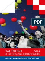Calendar of Cultural and Touristic Events 2014