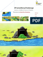 Sweta Roy Choudhury's  Illustrations for the #6FrameStoryChallenge
