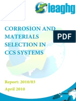 Corrosion Materials Selection Ccs Systems