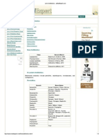 List of Antibiotics - EMedExpert