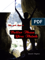 Better Than You Think - Restoration Ministry