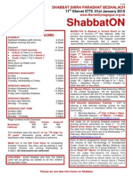 shabbaton 31 january 2015