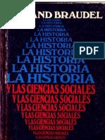 Braudel F. - LaHistoriaYLasCienciasSociales