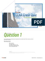 Ccna Crash Quiz