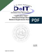AppendixB-FunctionalDesignPhaseBusinessequirementsDocument021805
