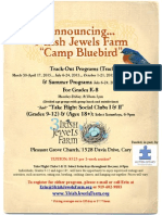 Trackout & Summer Programs Flyer