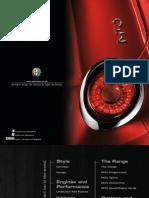 Alfa Romeo Mito Brochure 2013 Uk
