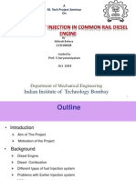 effect of pilot injection in common rail diesel engine