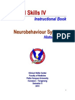 Clinical Skills NEURO - History Taking