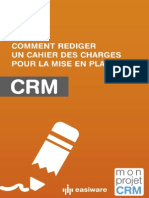 Cahier Des Charges Monprojetcrm