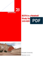BCFA in a Nutshell Study Guide for Exam 143-420