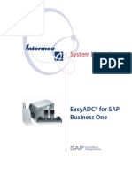 SAP Bussines One - CK30