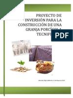 Proyecto de Inversion Para La Construccion de Una Granja Porcicola Tecnificada