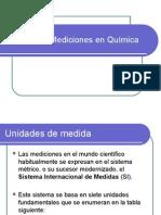 Mediciones en Quimica