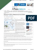 Florentino Perez y James Rodriguez en Contratos en Colombia