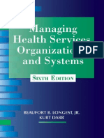 Managing Health Services Organizations and Systems, Sixth Edition Excerpt