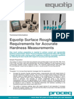 Equotip Surface Roughness E 2010.03.17