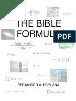 The Bible Formula by Periander A. Esplana