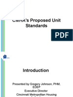 CMHA's Unit Standards January 2013