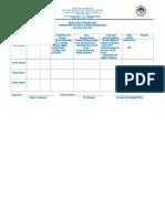 Supervisory Program Template