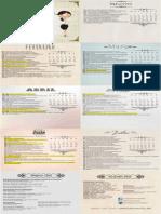 Calendário Acadêmico 1º 2015