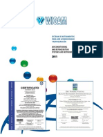 Wigam Catalogo 2011