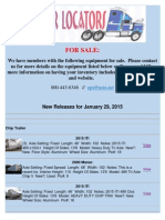 New Release January 29, 2015