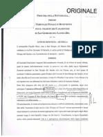 Denuncia Per Diffamazione Del Sindaco Claudio Ricci