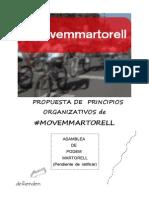 Movem Martorell Propuesta Organizativa