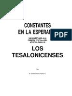 Comentario Dr. Nuñez, Constantes en la Esperanza 1a. Tesalonisenses