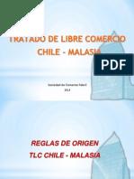 Tratado Libre Comercio Suscritos Entre Chile y Malasia