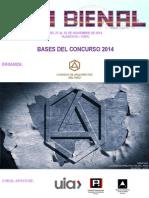 Bases Xvi Bienal 2014