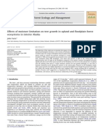 Yarie 2008. Effects of Moisture Limitation on Tree Growth in Upland and Floodplain Forest Ecosystems in Interior Alaska