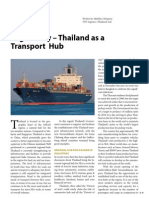 Logistically Thailand as a Transport Hub
