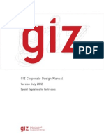 GIZ Corporate Design Manual