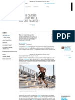 Bodybuilding - Which Cardio Methods Melt Burn Faster