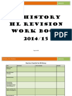 ib history hl revision work book