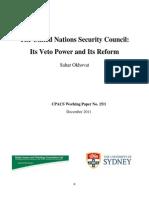 UNSC Paper