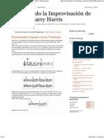Entendiendo La Improvisación de Jazz Con Barry Harris_ Progresiones