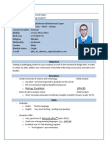 Abdulraheem Mohammad Saqer CV