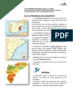Conoce la provincia de Alicante