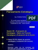 Planeamiento Estratégico - Evaluación de estrategias