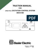 Basler DECS-400 Instruction Manual