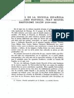 Fray Miguel Bartolome Salon