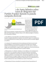 Junta Islámica Esperanza Aguirre