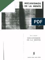 Mecanismos de La Mente - Eric Berne