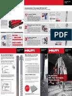 Brochure Nuevo Adhesivo Hilti HY 200 + Tecnología Safe Set (Instalación Segura)