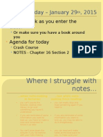 chapter 16 section 2 - own notes