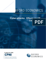 Cyber Attacks Implications for Uk