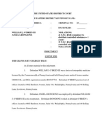 Federal Indictment - O Brien and Rongione